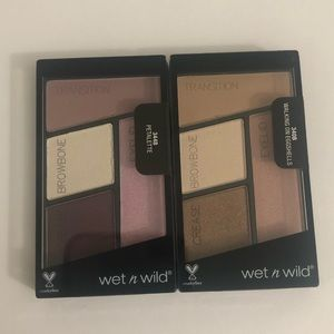 Wet n Wild Color Icon Eyeshadow Quad Duo